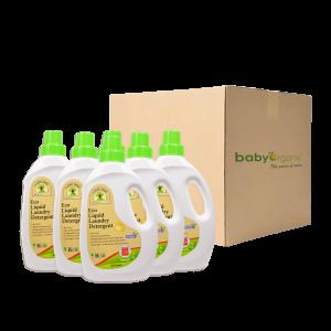 Baby-Organix-Eco Liquid Laundry Detergent (6PCS)